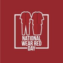 National Wear Red Day – Friday, February 3, 2017